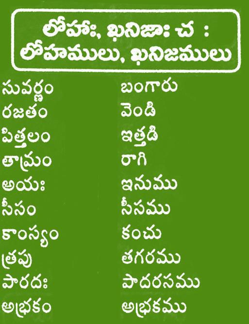Teluguvaramandi Net Telugu Andhrapradesh Sanskrit Meanings