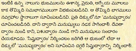 Gruha Vastu In Telugu Pdf